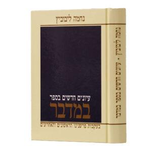 עיונים חדשים בספר במדבר ליבוביץ
