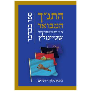 """התנ""""ך המבואר במדבר שטיינזלץ"""