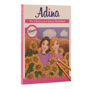 ADINA COLORING AND QUOTE SKETCHBOOK