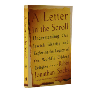 A LETTER IN THE SCROLL S/C RABBI J SACK