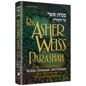 Rav Asher Weiss Parashah Vayik/Bamid/Dev