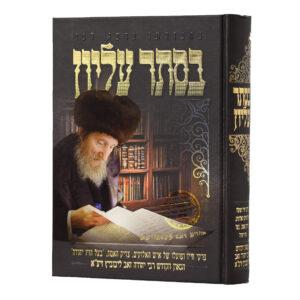 בסתר עליון תולדות רבי יהודה זאב ליבוביץ