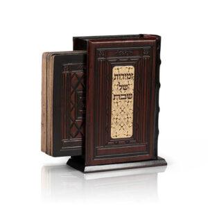 קופסא+6 זמירות עתיק חום אשכנזי
