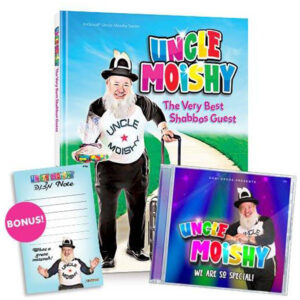 UNCLE MOISHY BOOK AND CD KIT