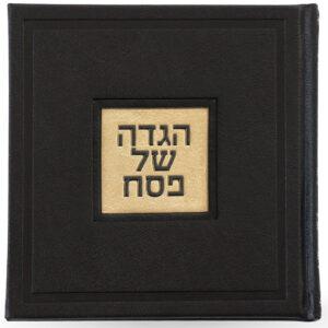 הגדה 15X15 אשכנזי שחור