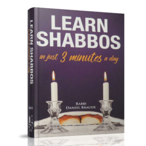 LEARN SHABBOS IN 3 MINUTES A DAY