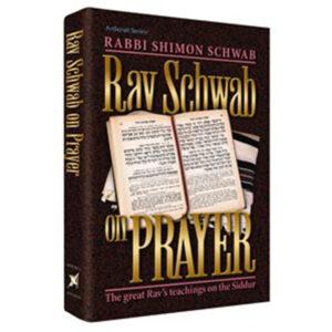 RAV SCHWAB ON PRAYER